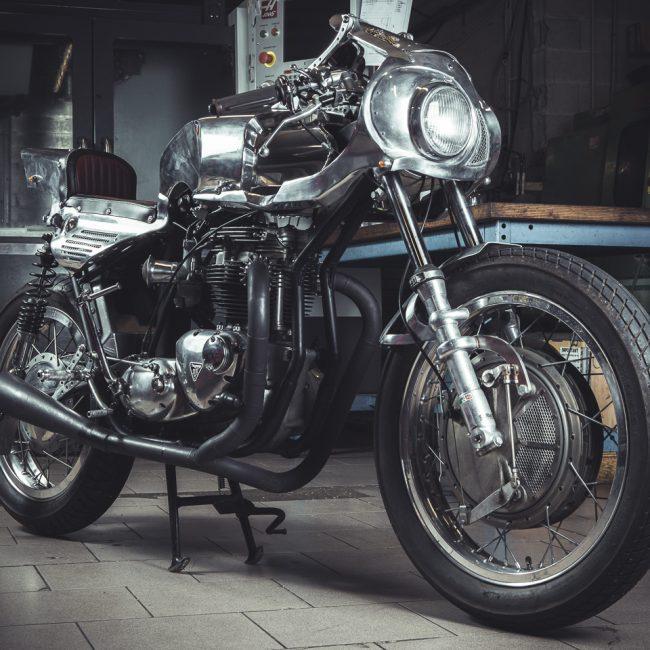 Photographie de Café Racer Triumph